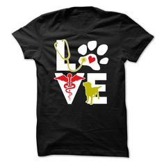 Veterinarian Love dog