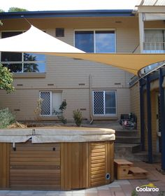 Lee Valley Tools - Coolaroo Shade Sails | Decks | Pinterest ...