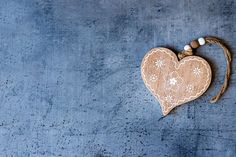 Wooden Painted Heart - Websites with a Heart