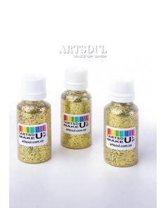 Блестки для макияжа Artsoul Make Up золото