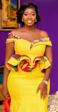 Kente wedding dress Kente wedding dress Source by African Dresses For Kids, African Fashion Ankara, Latest African Fashion Dresses, African Dresses For Women, African Print Dresses, African Print Fashion, Dress Fashion, African Traditional Wedding Dress, African Fashion Traditional