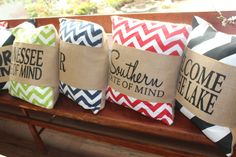 I just love these new pillows...great for gift-giving! — at The Barn Nursery.  033014