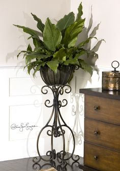 Planter by Uttermost (they make the most beautiful things!)