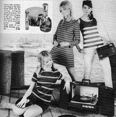 Seventeen May 1967.  Cay Sanderson, Paula Felton and Colleen Corby.