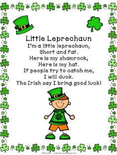 St. Patrick's Day Freebies and Fun! Creative Lesson Cafe