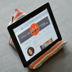 Give your hands a break and make this fun little stand to hold your ipad or tablet.