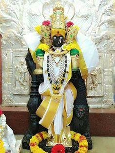 The Mahalakshmi Stotra - TemplePurohit.com Transliteration: Shree Indra Uvach Namostute-astu Mahamaye shri peethe soorpoojite shankh chakra gada haste MahaLakshmi Namostute (1) Namaste Garuda-rudhe kalasura bhayankari sarva paphare devi MahaLakshmi Namostute (2) Sarvagye sarva-varde sarvadusta bhayankari sarva dukh-hare devi MahaLakshmi Namostute (3) Siddhi Budhhi prade devi bhakti mukti pradayini mantramurte sadadevi MahaLakshmi Namostute (4) Aadhyantara-hite devi aadhya shakti maheshwar Indian Goddess, Goddess Lakshmi, Durga Images, Lord Ganesha Paintings, Lord Balaji, Lord Vishnu Wallpapers, Shiva Wallpaper, Krishna Art, Hare Krishna
