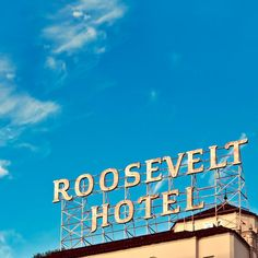Roosevelt Hotel on Hollywood Blvd by Raceytay