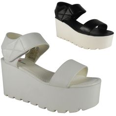 NEW-WOMENS-LADIES-ANKLE-STRAP-CLEATED-SOLE-PLATFORM-HIGH-HEEL-SHOES-SANDALS-SIZE