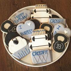 Crossfit Sugar Cookies | Milk & Honey Cakery