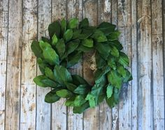 Magnolia Wreath Fixer Upper Decor Farmhouse Wreath