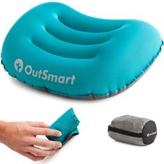 Amazon.com : Inflatable Camp Pillow by OutSmart - Ultralight Backpacking and Camping Pillow - Travel & Sleep in Comfort : Sports & Outdoors