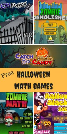 Free Halloween math games to engage your students this time of year. Try these fun and educational games to help keep your students focused on their learning.