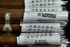 Clever! Lotto ticket and cigar wedding favor!