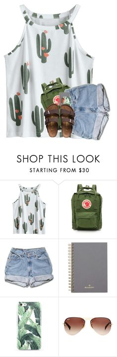 """1-30-18 [blog]"" by katie-1111 ❤ liked on Polyvore featuring Fjällräven, Mulberry, Ray-Ban and Birkenstock"