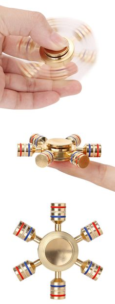 Focus Toy Rainbow Rudder Fidget Finger Spinner