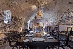 Vedema, Alati restaurant, Santorini.