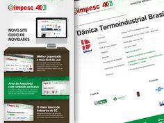 E-mail Marketing - Lançamento Website SIMPESC