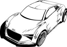 Sports Car Coloring Pages :http://coloringpagess.com/sports-car-coloring-pages/
