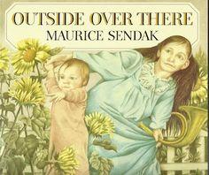 Outside over there  de Maurice Sendak  The Bodley Head, 1981  Nuestra edición: Red Fox (Random House), 2002  No se ha editado en castellano