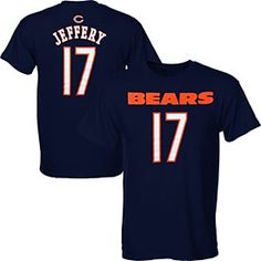 Get this Chicago Bears Alshon Jeffery Youth Name and Number T-Shirt at ChicagoTeamStore.com