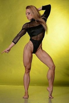 Fitness I should have been a dancer! #femalemuscle