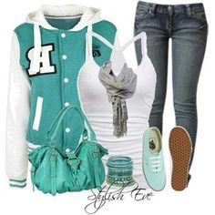 outfits for girls with swag for school - Google Search