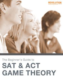 FREE SAT and ACT Test Prep Strategy Guide- Saving this for next time!