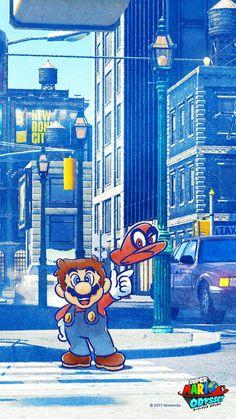 Super Mario Odyssey Cellphone Wallpaper