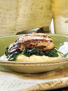 Rosemary Grilled Chicken Thighs #recipes