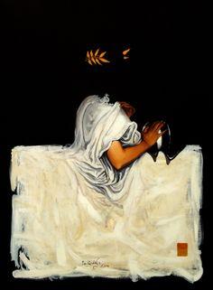 """""""Atenea No.7"""", acrílico sobre lienzo, 2011"""
