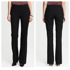 """Banana Republic Martin fit stretch trousers 35"""" inseam! Tall girls rejoice! Can be shortened too if they are too long for you. Straight fit through hip and thigh. Technically a straight leg but is slightly larger at hem line...see actual website for more precise fitting. These are an older model but they bring them back every year. Fully lined. Lightweight wool spandex blend. Basically the best pants for the money they don't really wrinkle ever and look expensive. Excellent condition. Banana…"""