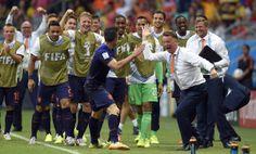 Spain 1-5 Holland: As It Happened