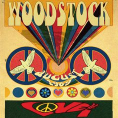 hippie room decor 191191946665503486 - East Urban Home 'Woodstock Love Invite Poster' Vintage Advertisement on Canvas Size: H x W x D Source by theycallmebrune Happy Hippie, Hippie Love, Hippie Style, 70s Hippie, Hippie Music, Hippie Chick, Vintage Hippie, Vintage Rock, Hippie Gypsy