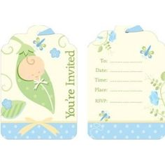 Invitations for baby shower