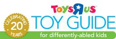 "We LOVE the Toys ""R"" Us 2014 Toy Guide for Differently-Abled Kids! Find great toys for children with Down syndrome here... you can even shop by skill!"