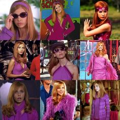 Daphne Blake my favourite Scooby-Doo character purple and pink girls like xxxxxxxxxxxxxxxxxx Scooby Doo Costumes, Daphne Scooby Doo Costume, Scooby Doo Movie, Halloween Costumes, Cartoon Costumes, Halloween Makeup, Halloween Ideas, Movie Character Costumes, Movie Characters