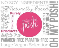Perfectly Posh #vegan #parabenfree #ohmyposh