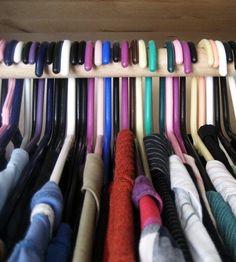 Each year I tell myself I'll thin down my closet