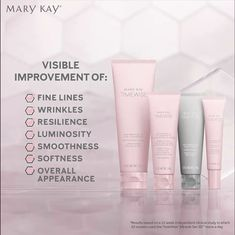 TimeWise Miracle Set defends, delays and delivers for younger-looking skin. Microdermoabrasao Mary Kay, Mary Kay Miracle Set, Mary Kay Party, Mary Kay Cosmetics, Eyebrows, Eyeliner, Frases Mary Kay, Perfectly Posh, Mary Kay Starter Kit