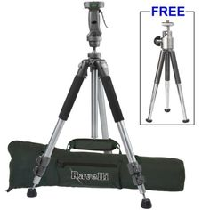 "Ravelli APGL4 New Professional 70"" Tripod with Adjustable Pistol Grip Head and Heavy Duty Carry Bag $83.33"