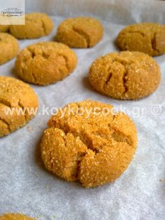 Greek Cookies, Biscuit Cookies, Greek Recipes, Chocolate Cake, Cookie Recipes, Biscuits, Sweet Tooth, Brunch, Food And Drink