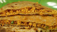 Chicken Keema Paratha