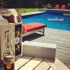 It's a perfect day to take your #jambox to the pool. #heatwave