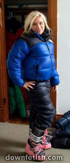 Down Puffer Coat, Down Parka, Down Coat, Nylons, Winter Suit, Puffy Jacket, Snow Suit, Overall, Wool Sweaters