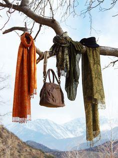 scarf display idea