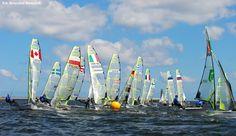 Mistrzostwa Europy w klasie 49er / 49er European Championships | fot. Krzysztof Romański | #gdynia  #sailing  #sail