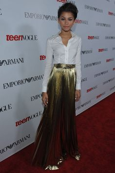 Zendaya Coleman at Teen Vogue's 10th Annual Young Hollywood Party