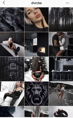Trendy style for instagram 2019. Стиль Инстаграм 2019. Black style. Minimalism Preview Instagram, Best Instagram Feeds, Instagram Feed Tips, Instagram Feed Layout, Instagram Grid, Instagram Blog, Instagram Fashion, Style Instagram, Instagram Design