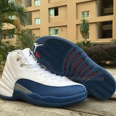 456e89cb4423c7 Only 122.00 MEN AIR  JORDAN 12 FRENCH BLUE  Free  Shipping!